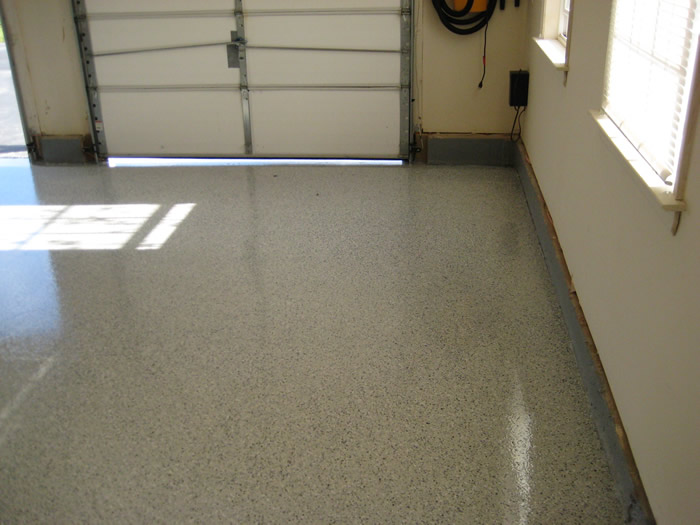 Garage floors etching garage floors for Diy garage floor cleaner